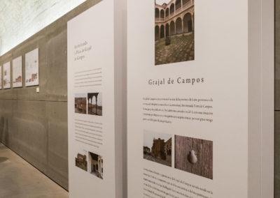 Grajal de Campos exposición Arquería Nuevos Ministerios