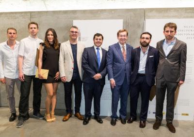 Inauguración de la Exposición con los premiados