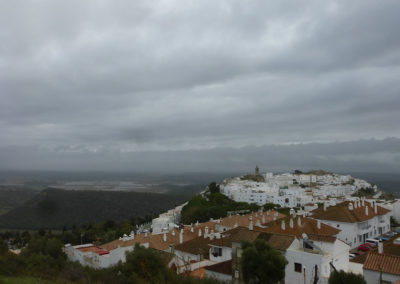Vejer desde el mirador-View from the ElSanto point to Vejer
