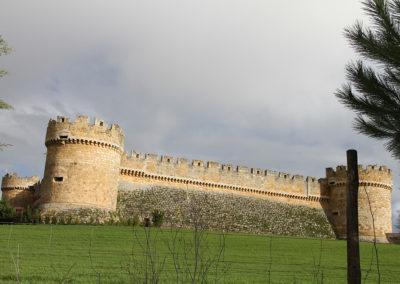 Grajal castillo construcción tradicional