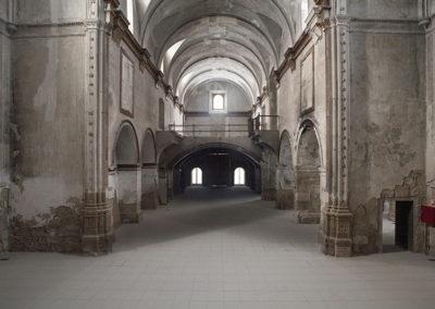 Interior de la iglesia de S Jerónimo