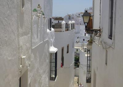 calle tradicional de vejer cadiz