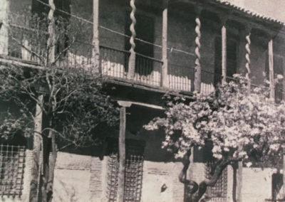 históricagalería desaparecida en fachada este palacio de Grajal