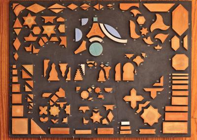 Colección de formas de los mosaicos cerámicos andalusís