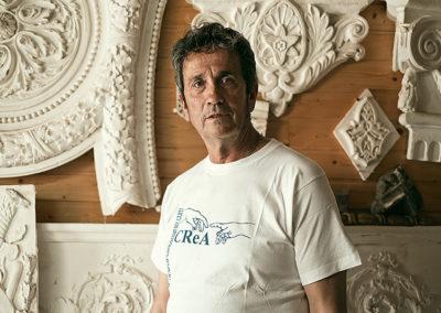 Carlos Martín Jiménez, maestro bovedero y yesaire