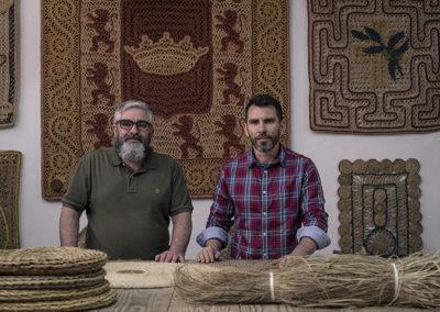 Ubedíes Artesanía, maestros esparteros
