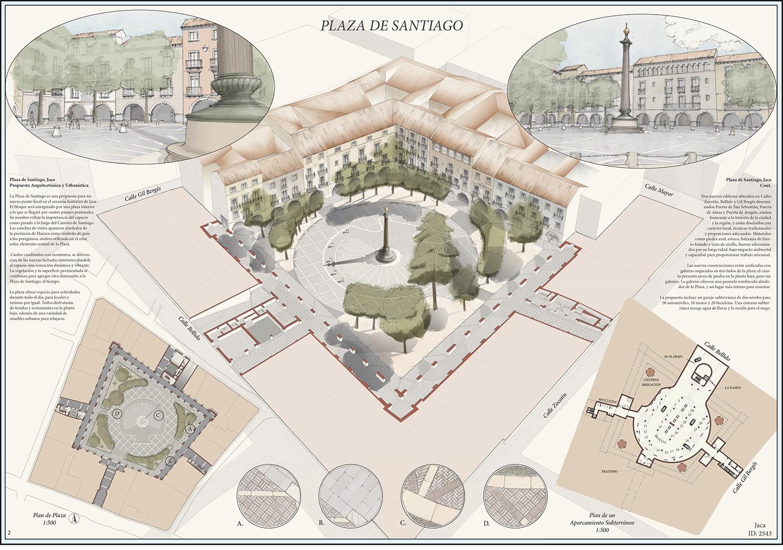 Jaca_Plaza_de_Santiago_2