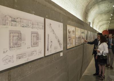 Exposición en la Arquería de los Nuevos Ministerios, Madrid