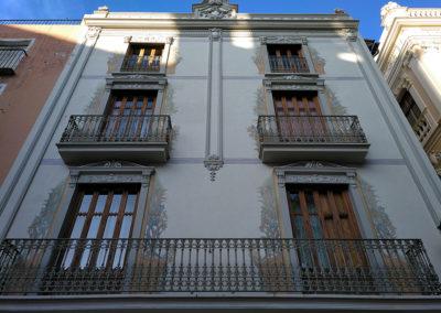 Alzira detalle fachada