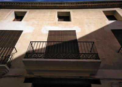 Alzira fachada tradicional