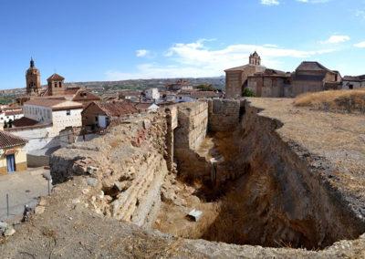 G3.19 Explanada. Excavaciones arqueológicas en su esquina norte