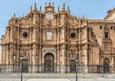 Guadix - Catedral de La Encarnación. Fachada principal