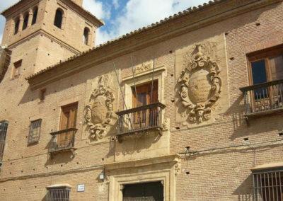 Guadix - Palacio de Villalegre. Fachada principal.
