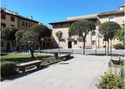 Olite - Plaza de los Teobaldos