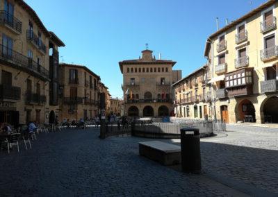 Olite - Plaza del Carlos III el Noble