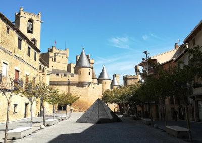Olite - Vista del Palacio