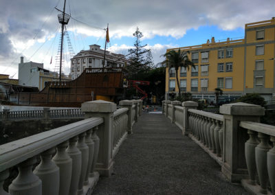 SCP Puente Peatonal sobre el barranco